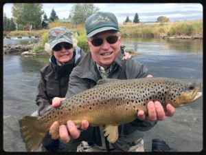 Tom and Anne fished with us spring, summer and fall