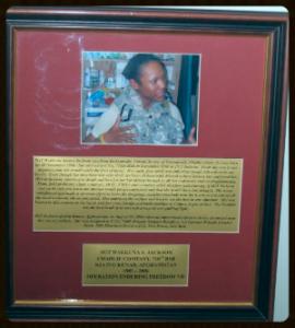 Sgt. Jackson, Bagram Air Base, Afghanistan