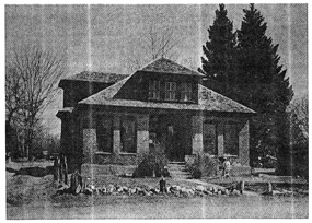 Original Healing Waters Lodge Building (Circa 1891)