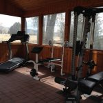 Exercise Room at Healing Waters Lodge | Fly fishing lodge in Montana