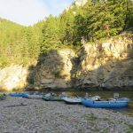 Lewis & Clark Expeditions - Camp on the Smith River