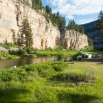 Lewis & Clark Expeditions Camp on the Smith River