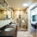 Franz Pott Room Bathroom at Healing Waters Lodge | Fly Fishing Lodge Southwest Montana