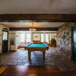 Indoor space in Main Lodge at Healing Waters Lodge