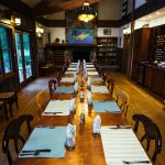 Dining Room at Healing Waters Lodge
