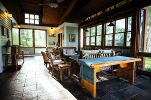 Sun Porch at Healing Waters Lodge