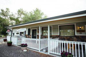 Pond Side Rooms at Healing Waters Lodge | Full Service Fly Fishing Lodge in Montana